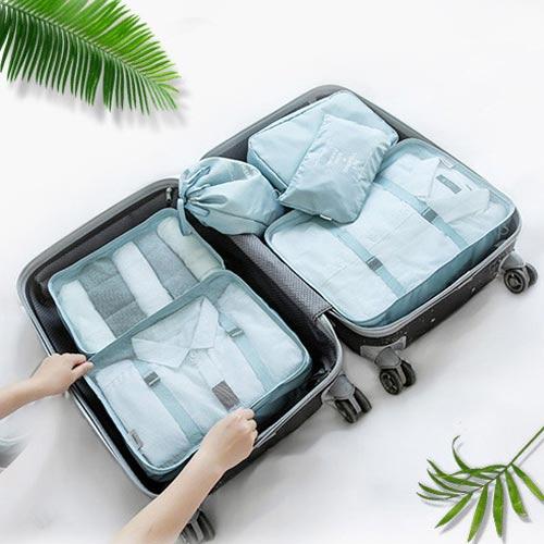 고급형 위시 여행파우치 6종세트 - 컬러다양 캐리어 파우치 여행준비