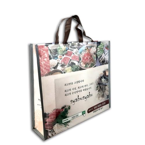 국산 주문제작형 부직포가방 중(박스형) [특판상품]