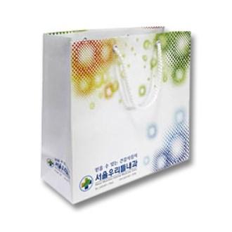 [쇼핑백]종이쇼핑백-5 / 220x180x120mm(3절)