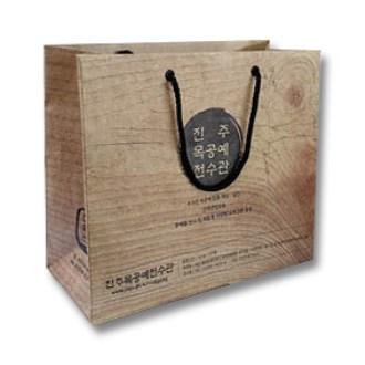 [쇼핑백]종이가방 종이쇼핑백-5 / 300x280x100mm(장2절)