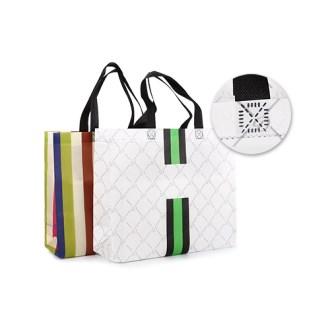 부직포 쇼핑백 대/소 (패턴/색동)