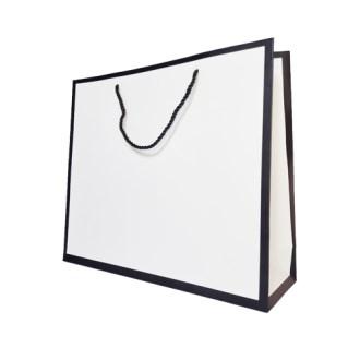 코팅쇼핑백(백색 테두리) 3호 320X100X280 [특판상품]