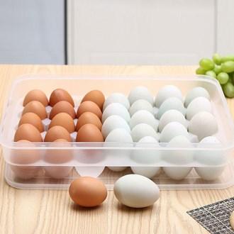 깔끄미 대형 34구 층층이 달걀 계란 보관함 [특판상품]