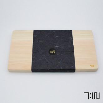 편백 통원목 나무 도마 (피톤치드) [특판상품]