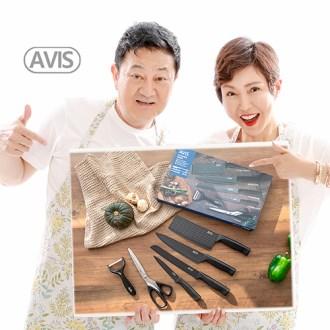 [아비스] 주방용 칼,가위 6종 세트 [특판상품]