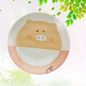미노야 카레 접시1P 핑크