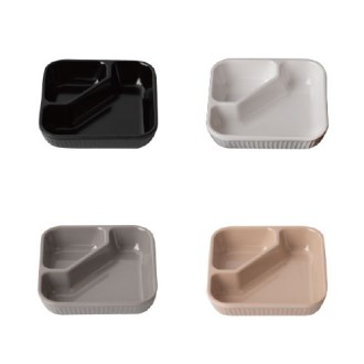 멜라민 에코 다용도 2절 접시 / 인쇄가능 [특판상품]