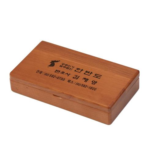 원목 인주,인장함 JW-63-20