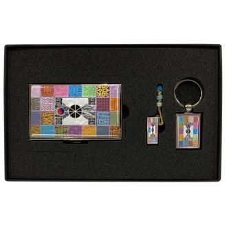 금속명함+USB+사각열쇠고리