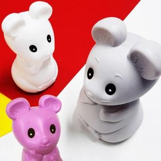 (귀여운)마우스저금통 캐릭터저금통(쥐돌이) 띠저금통-빅디자인
