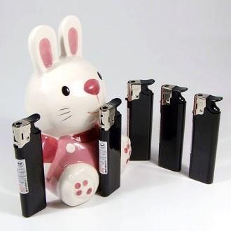 토끼(먹색)전자라이타