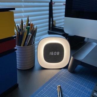 GANSO 시계 무선 LED 무드등 [특판상품]