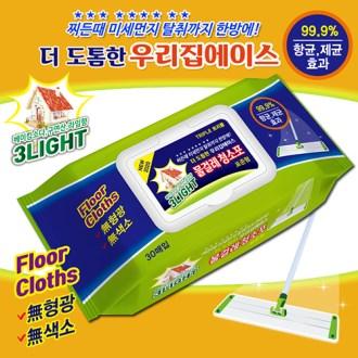 [대한민국 1등청소포] 3L 우리집청소포30매 항균 제균 99.9% 베이킹소다+구연산+라임향