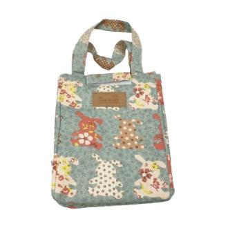 바니 토끼무늬 보온 보냉 도시락 가방 런치백 쿨러백 小 中 大
