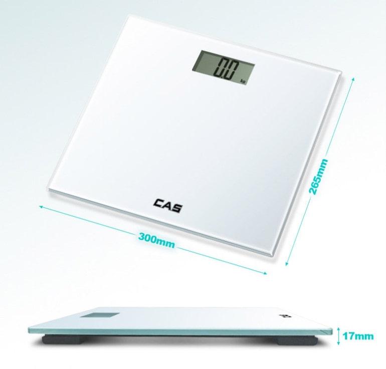 카스 LCD 디지털 체중계(HE-75) [특판상품]