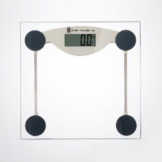 더슬림 투명 전자식 체중계(FM001)