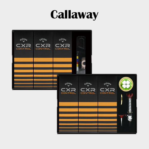 캘러웨이 CXR CONTROL 9구 볼마커 / 기능성티세트 [특판상품]