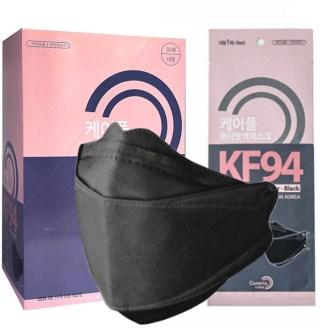 KF94 황사마스크 블랙마스크 대형 1매입 국내생산 식약처인증