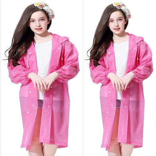 휴대용 우비 비옷 레인코트 고급우의 아동용