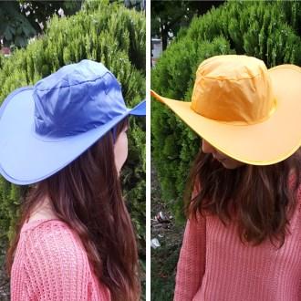 원터치 모자