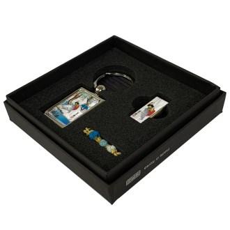 USB+금속사각 열쇠고리