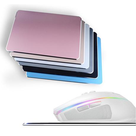 패션 알루미늄 마우스패드 - 컴퓨터용품,로고인쇄가능,알루미늄, 합금,청소간단