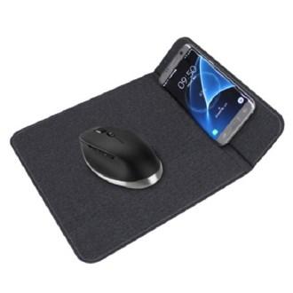 아트텍 10W 최신 패브릭 무선충전 필수 마우스 패드 CAH325