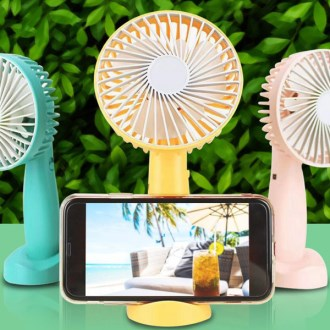 (폰거치대)미니선풍기 휴대용선풍기