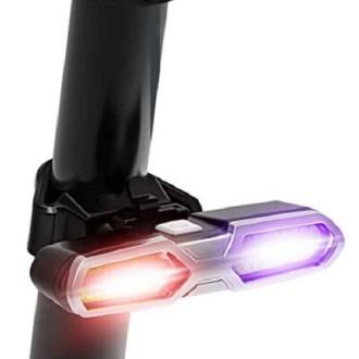 네이쳐 투컬러 자전거 야간 안전 LED 최강의 등 CA229