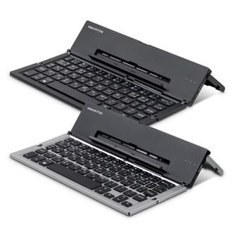 스마텍 4단 접이식 휴대용 블루투스 키보드 STBK-F1000 (파우치제공) [특판상품]