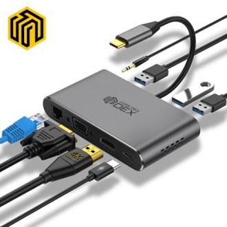 씽크웨이 CORE D53덱스 8in1 HDMI 멀티포트 허브 [특판상품]