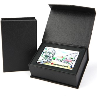 DV D7 카드형 USB메모리8G(고급사바리케이스) [특판상품]