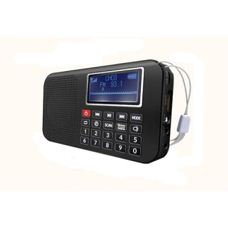 인텔 가사지원 미니스피커 라디오 IK-PR130 [특판상품]