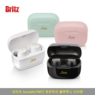 브리츠 AcousticTWS7 블루투스 5.0 퍼스널 컬러 블루투스 이어폰 [특판상품]