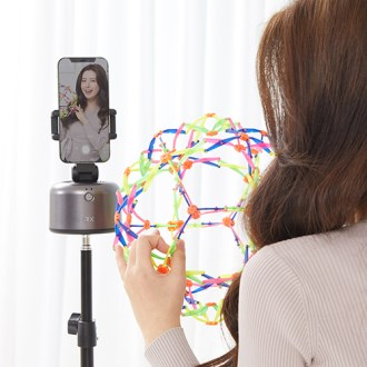 림엑스 360도 자동추적 팔로우캠 RX-FACAM 스마트폰 거치대 짐벌 [특판상품]