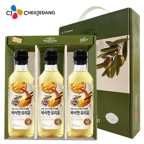[백설] 요리유3p 선물세트 [특판상품]