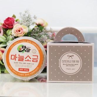 스노우데이 맛담색소금300g(마늘,톳,시금치,복분자)