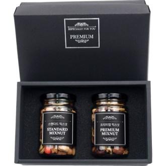 견과류 믹스넛 2P 선물세트 (스탠다드+프리미엄) [특판상품]
