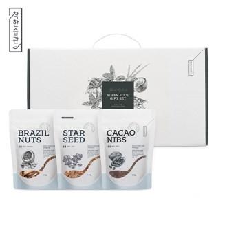 착한습관 견과류 3종팩 선물세트(브라질넛/햄프시드팩/볶은아마씨팩) [특판상품]