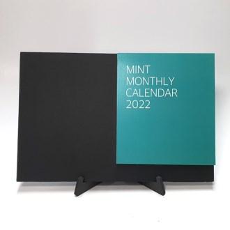 2022년 에코보드 북타입탁상달력-민트 [특판상품]
