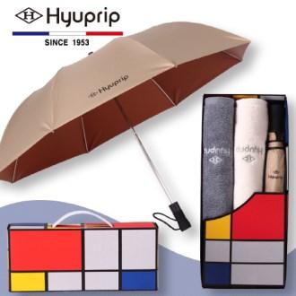 협립 2단 아웃도어 우산 1P+코마호텔타월 2P세트