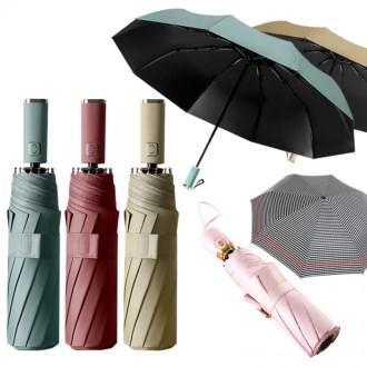 베이직 3단완전자동 암막우산 [특판상품]