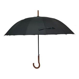 60 14K 원목 곡자 장우산
