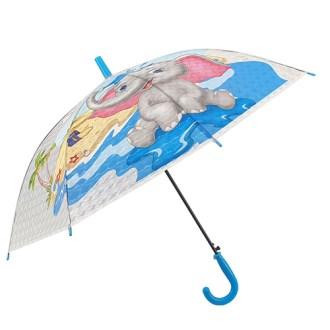 POE 장 50*8 자동3D 투명아동 IK-I5-060 장우산