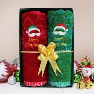 크리스마스 타올 선물세트 (2P)