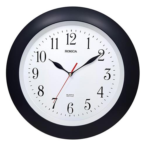 로니카 라운드 무소음벽시계 R133