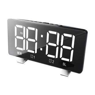 라디오 겸용 디지털 LED 시계 BR8830-1 블랙 [특판상품]