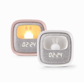 COBY 무드등 LEDRabbit 알람시계 (핑크,화이트) [특판상품]