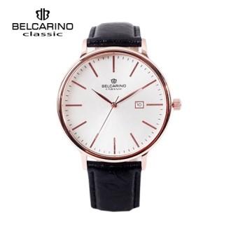 [BC6182(Date)RW] 벨카리노 로즈골드 써클 손목시계 [특판상품]