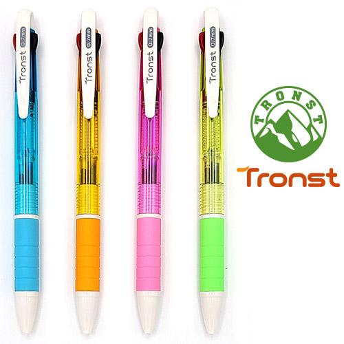 트론스트니들3색 0.7mm(4color) [특판상품]